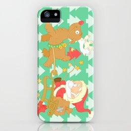 Santa 2014 iPhone Case