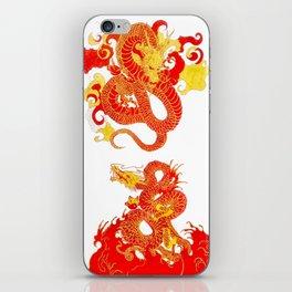 Circling Dragons  iPhone Skin