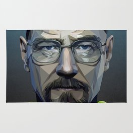 Low Poly Walter White Rug