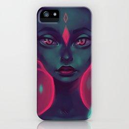 Caro girl iPhone Case