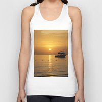 jamaica Tank Tops featuring Sunset in Jamaica  by Jason Carnegie