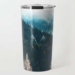 Fir Forest Winter Travel Mug