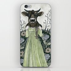 Cow Mask iPhone & iPod Skin