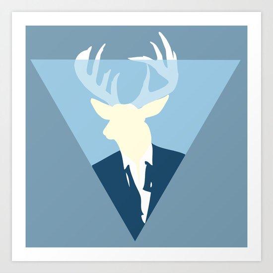 Beast-Head Art Print