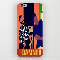 friday iPhone & iPod Skins featuring Friday by Courtney Ladybug Johnson