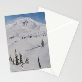 Snowy Mount Hood Stationery Cards