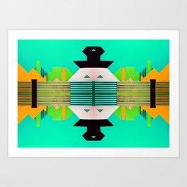 Digital Playground #3 Art Print