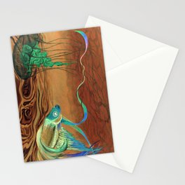 greetings [from the other side] Stationery Cards