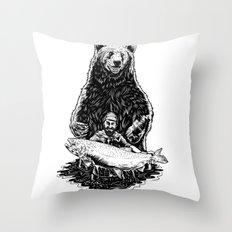 Bearware Throw Pillow