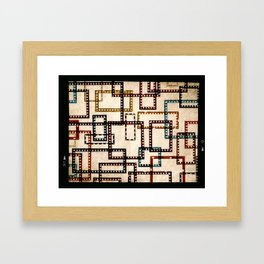 Film Framing Study #1 Framed Art Print