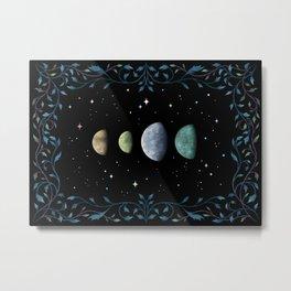 Moons of Jupiter Metal Print