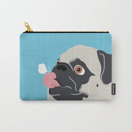 Pug Butterfly Flat Graphic Carry-All Pouch