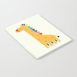 Giraffe Piano Notebook