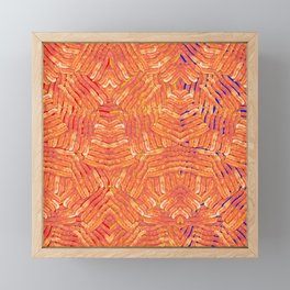 Jasper's Breakfast Framed Mini Art Print