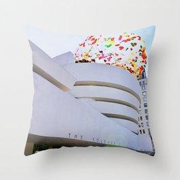 Guggen Scoop Throw Pillow