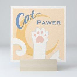 Cat Pawer! Cat Meets Sailor Moon Mini Art Print