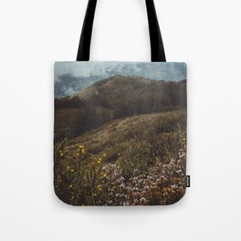 Wildflowers in autumn Tote Bag