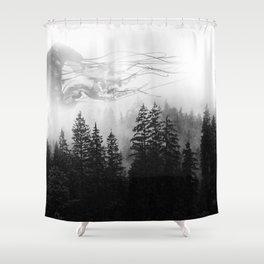 jellyfish forest 2 Shower Curtain