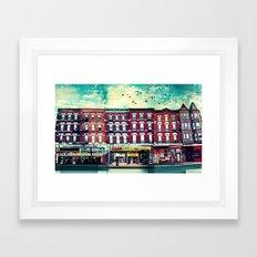 A Chicago Avenue Framed Art Print