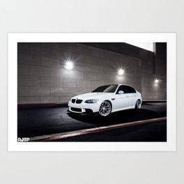 E90 M3 Art Print