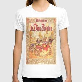 Vintage poster - De Dion Bouton Automobile T-shirt
