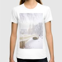 central park T-shirts featuring Central Park by Vivienne Gucwa