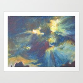 Sunrays Art Print
