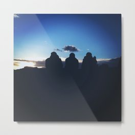 Evening Silhouette  Metal Print