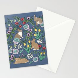 with early spring flowers Stationery Cards