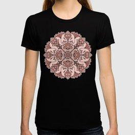 Lotus Mandala - Blush Pink T-shirt