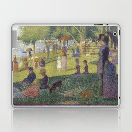 Georges Seurat's A Sunday Afternoon on the Island of La Grande Jatte Laptop & iPad Skin