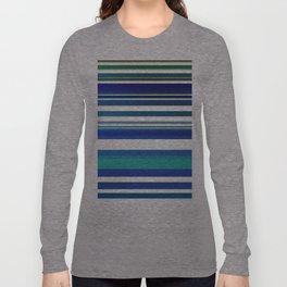 Blue lines 1 Long Sleeve T-shirt