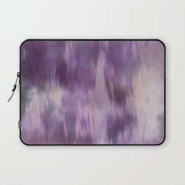 Purple Fusion Illustration Digital Watercolor Artwork Laptop Sleeve