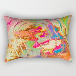 Feel the Rainbow Rectangular Pillow