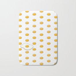 Sunny Side Up Polka Dots Bath Mat