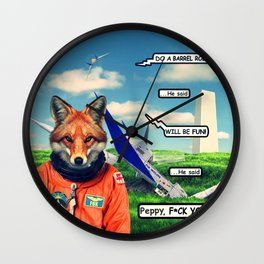 Starfox - F*CK YOU PEPPY! Wall Clock