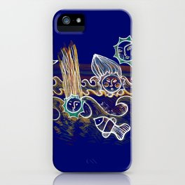 More Suns for Life at Deep Blue iPhone Case