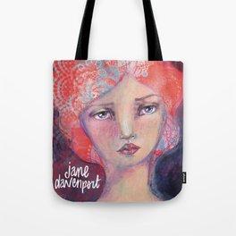 Folie by Jane Davenport ( with logo) Tote Bag
