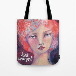 Folie by Jane Davenport ( with logo) Tote Bag