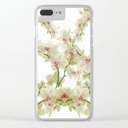 Orchidee fantasy Clear iPhone Case