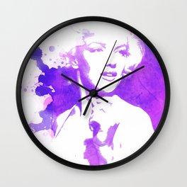Marilyn Watercolor II Wall Clock