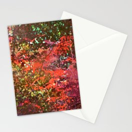 Abstract 278 Stationery Cards