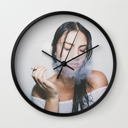 SMOKE Wall Clock