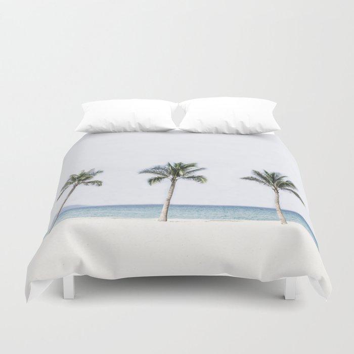 Palm trees 6 Duvet Cover