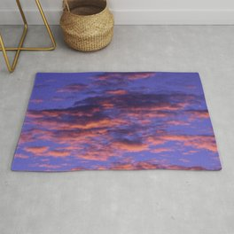Pink and Blue Sky Rug