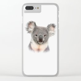 Koala Clear iPhone Case