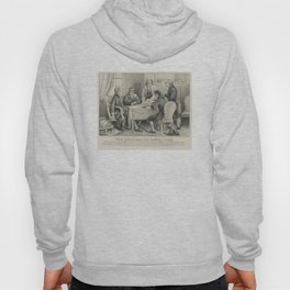 Vintage Illustration of the Declaration Committee Hoody