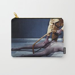 The Saw - Nude woman in saw scene Carry-All Pouch