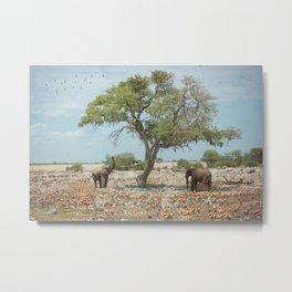 Animal Paradise Metal Print