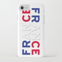 france iPhone & iPod Cases featuring France by Vintage Deco Print Posters